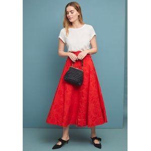 ✨ Anthropologie Maeve Sandra Belted Skirt ✨